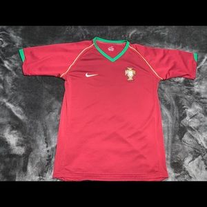 Nike Youth Portugal Home Soccer Jersey Youth Xl